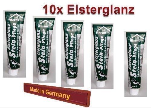 10x Elsterglanz Steinpflege Marmor Naturstein Spezialreiniger 40ml