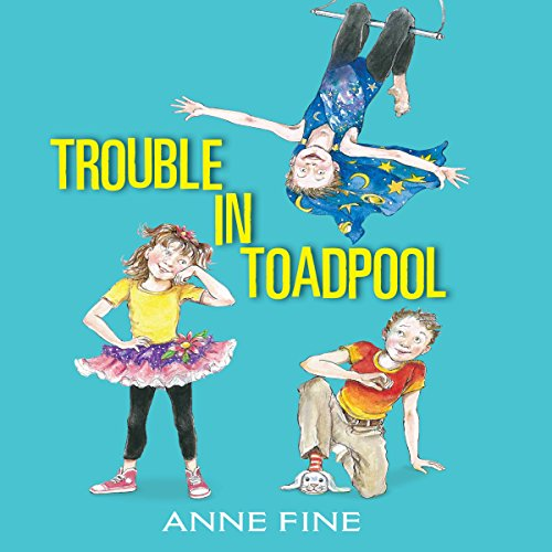 Trouble in Toadpool audiobook cover art