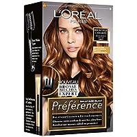 Kit de mechas y reflejos para cabellos castaños, modelo Préférence, de la marca L 'Oréal Paris