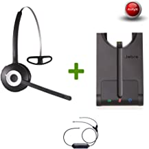 Avaya Phone certified Jabra Cordless Headset | PRO 920 Avaya Bundle | | Avaya Compatible VoiP phones: 1408, 1416, 9404, 9406, 9408, 9504, 9508 | Electronic Remote Answerer included
