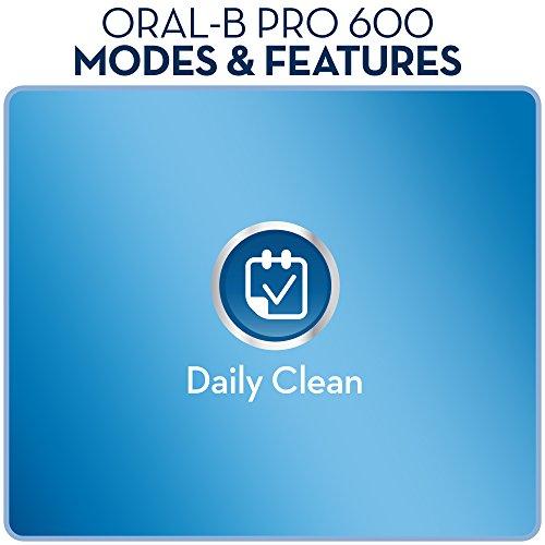 Oral-B PRO 600 CrossAction – Wiederaufladbare elektrische Zahnbürste - 8