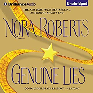 Genuine Lies audiobook cover art