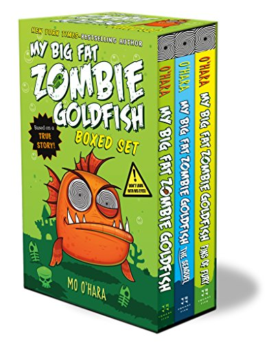 My Big Fat Zombie Goldfish Boxed Set: (My Big Fat Zombie Goldfish; The Seaquel; Fins of Fury)