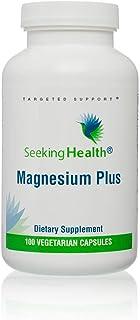 Magnesium Plus | Vitamin B6 Plus Magnesium Supplement | 100 Vegetarian Capsules | Seeking Health | Physicia...