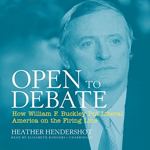 Open to Debate audiobook cover art