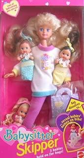 Barbie Babysitter SKIPPER Doll w 3 Babies! (1994)