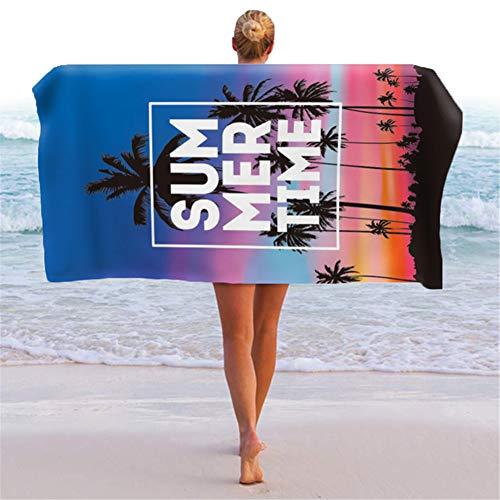 ACLBB ÜBergrößE Strandtuch, Hautfreundlich Badetuch Schnelltrocknend Sandabweisend DüNn & Ultraleicht Zum Yoga Fitness Strand