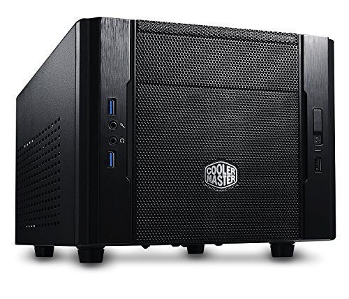 Cooler Master RC-130-KKN1 Elite 130 - Mini-ITX Computer Case with Mesh...