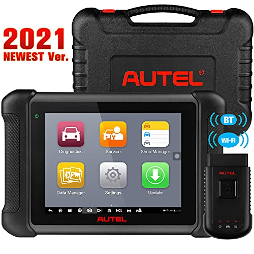 Autel Scanner MaxiSys MS906BT, 2021 Newest Automotive Scan Tool, Upgraded Ver. of MS906 DS808 MP808, with Advanced ECU Coding, Bi-Directional Control, 31+ Services & OE-Level All Systems Diagnosis