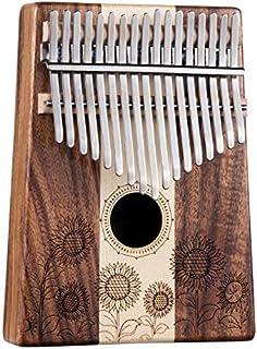 BeatRise Kalimba 17 Keys Sunflower Pattern Thumb Piano with