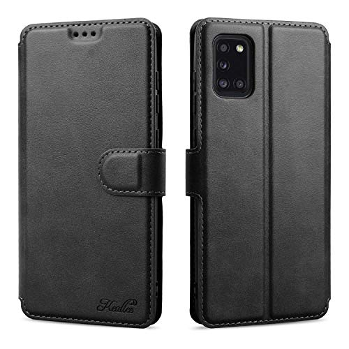Keallce für Samsung Galaxy A31 Hülle, Handy Lederhülle PU Leder Hülle Brieftasche Handytasche Cover Kompatibel für Samsung Galaxy A31 Ledertasche-6.4