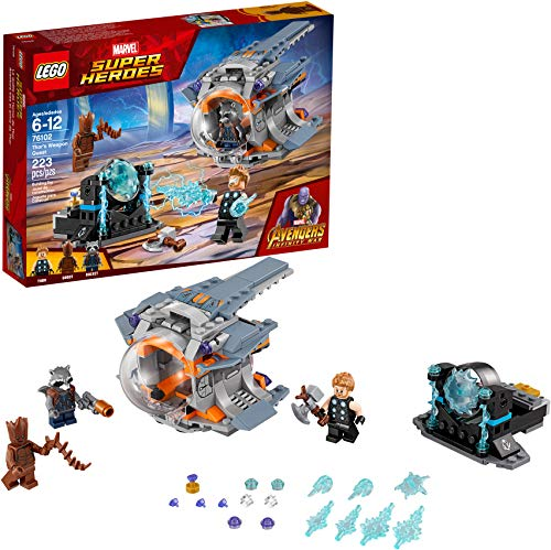 LEGO Super Heroes Thor 's Weapon Quest 76102建物キット( 223ピース)