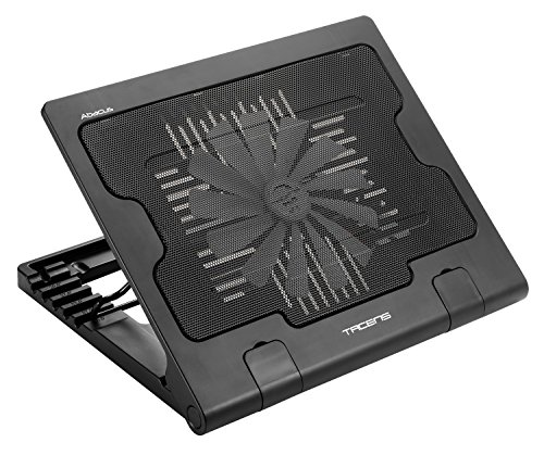 Tacens 4ABACUS Base di Raffreddamento, 17 , Ergonomici, USB Ventola 18cm