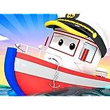 ボートのボビーがプロペラ故障!/二階建てバスのデンバー/トレインのトロイが脱線/消防車のベビーフランクのタイヤが溶ける!