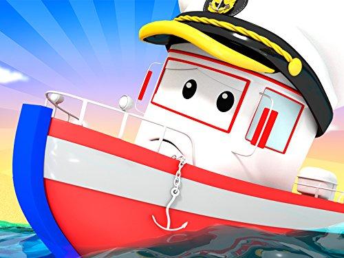 Das Boot und Tom der Abschleppwagen