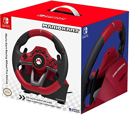 HORI - Nintento Switch Mario Kart Racing Wheel Pro Deluxe (Nintendo Switch)