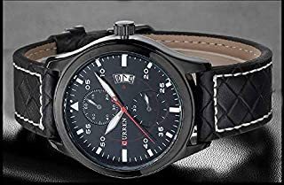 CURREN Watch For Men [leather,Quartz]