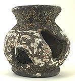 U.P. Aqua - Tarro de cerámica egipcia, tamaño mediano