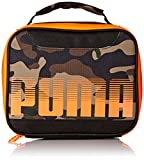 PUMA Boys Contender Kid's Backpack, Lunch Box Black/Camo, Youth