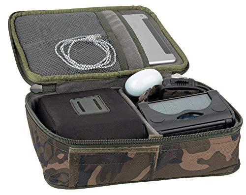Fox Gadgets Safe 30x23x9cm - Angeltasche für Handy, Powerbank & Zubehör, Tackletasche, Zubehörtasche, Karpfentasche