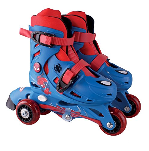 SPIDERMAN - Patin 2 en 1 evolutivos para niños