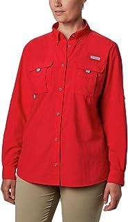 Columbia Women's PFG Bahama Ii Long Sleeve Shirt, Breathable with Uv Protection