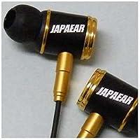 JAPAEAR カナル型イヤホン (ゴールド) JE333G 1.2mコード
