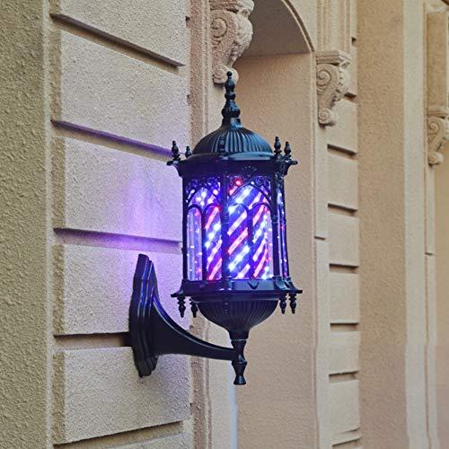 WangXN Barbers Pole LED Retro licht roterende verlichte strepen voor kapsalon kapsalon kapper, Color1