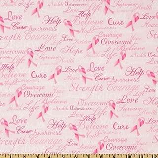 Best breast cancer awareness fleece material Reviews