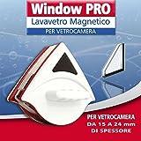 LAVAVETRI MAGNETICO PER DOPPIO VETRO VETROCAMERA 15/24 MM TRIANGOLARE LAVA VETRI WINDOWS PRO 1