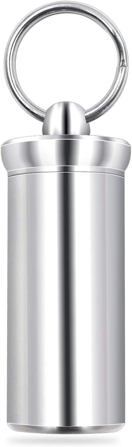 VANSU Titanium Waterproof Keychain Pill P Portable Mini Box At the Ranking TOP16 price Case