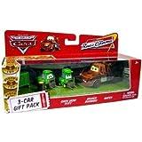 Dubblebla Disney / Pixar Cars Movie 1:55 Die Cast Car Race-O-Rama 3-Car Gift Pack Chick Hicks Pitty, Bruiser Bukowski and Mater