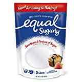 EQUAL Sugarly, Sugar Substitute, Erythritol Sweetener, Baking Sugar Alternative, 13.4 Ounce