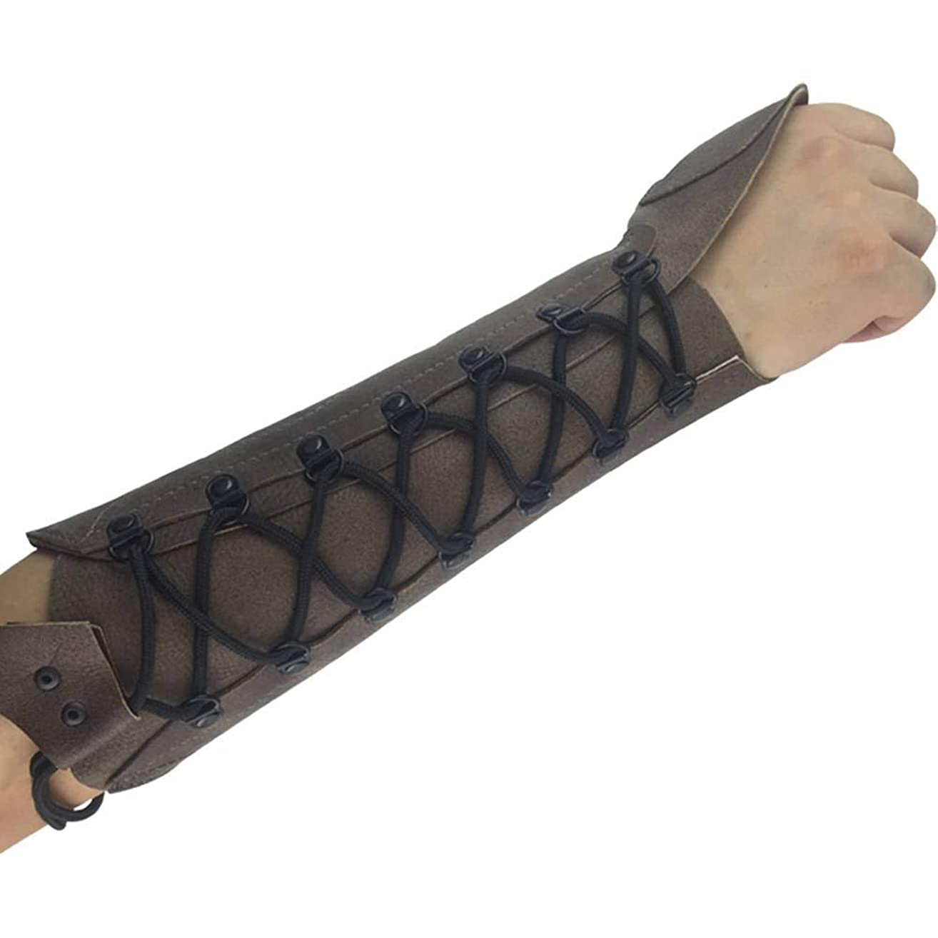 ArcheryMax Handmade Leather Arm Guard Bow Hand shooting Glove