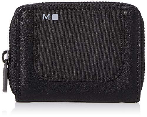 Moleskine ID-collectie portemonnee met ritssluiting (4 vakken voor bankkaarten, afmetingen 11 x 2 x 9,5 cm) zwart