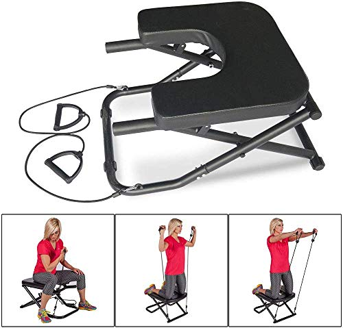 Apelila Yoga Bench Head Stand - Stand Yoga Headstander for House, Gym Build Up Body Ideal Chair for Shoulderstand, Practice Head Stand, Headstand Bench,Inversion Equipment