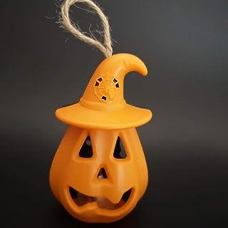 Halloween citrouille lumière LED lumière bougie lumière festival fantôme atmosphère décoration accessoires crâne tête lamp...