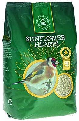 Kew Wildlife Care Collection 2Kg Kew Sunflower Hearts from CJ Wildbird Foods Ltd