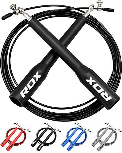 RDX Ajustable Saltar Cuerda Salto Comba Velocidad Rapida Pérdida Peso...