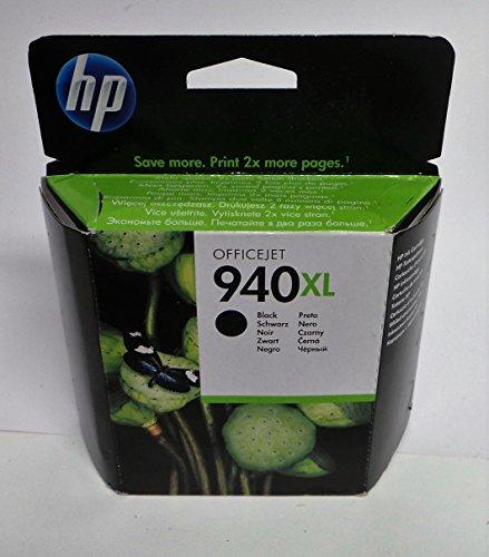 HP 940XL Cartuccia Originale Getto d'Inchiostro ad Alta Capacità, Nero