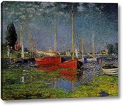 Pleasure Boats at Argenteuil by Claude Monet - 12