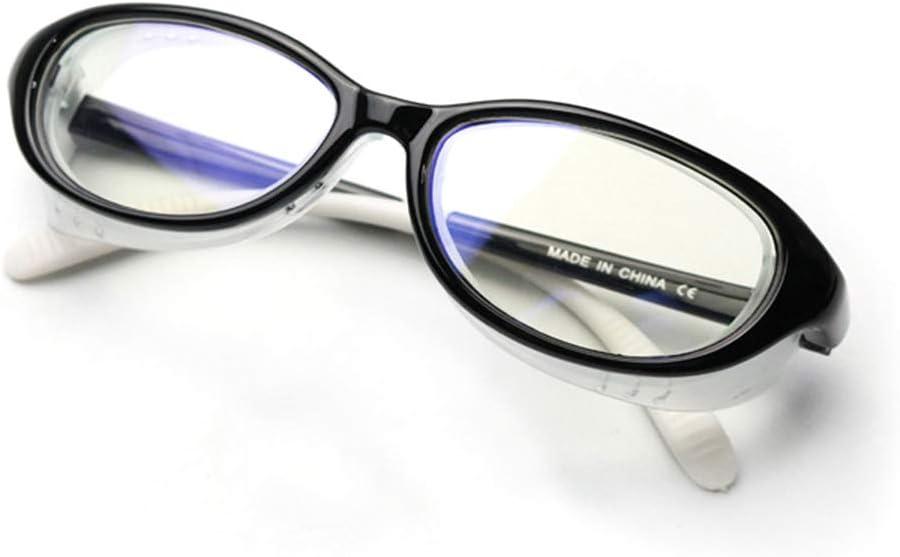 Gafas de seguridad para niños Ropa protectora anti-polen Ojo de ojo anti azul claro Protección de ojos con escudos laterales Gafas para niños y niñas y niños