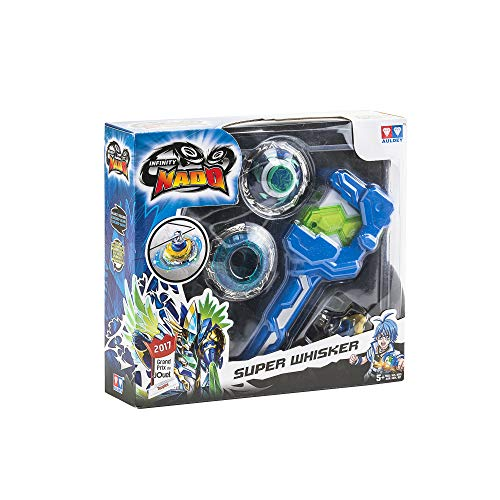 Infinity Nado Special Super Whisker Spinning Top With Launcher Toys (Multicolor)