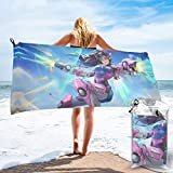 Magia 3D héroe shooter 2 Ultimates Serie chatarra zenyatta Genji DVA eco figuras de acción overwatch toalla de baño set senderismo champing playa arte forkids