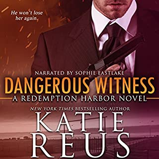 Dangerous Witness                   Written by:                                                                                                                                 Katie Reus                               Narrated by:                                                                                                                                 Sophie Eastlake                      Length: 8 hrs and 13 mins     2 ratings     Overall 4.5