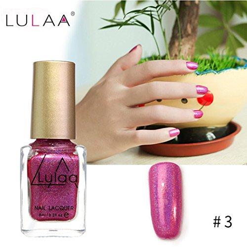 IGEMY LULAA 10ML Farbe Gel Nagellack Nail Art, Gelpoliermittel UV LED Gelpoliermittel (C)