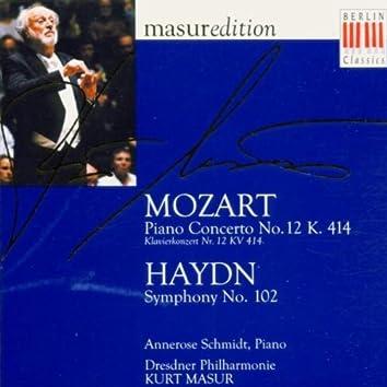 Mozart: Piano Concerto No. 12 - Haydn: Symphony No. 102