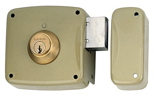 LINCE 3017190 Cerradura 5124A-BO/100 Derecha, Oro