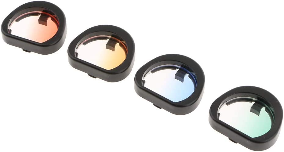 MagiDeal Gradient Color Close-Up Max 74% OFF Lens Popular overseas Filters Ca Kit Mini for 90