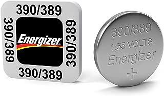 Energizer Batteries 390/389 (189, SR1130SW, SR1130W) Silver Oxide Watch Battery. On Tear Strip (Pack of 5)